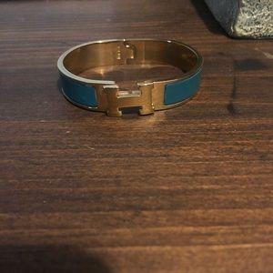 Hermès clic clac bracelet